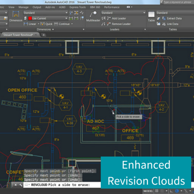 Enhanced Revision Clouds