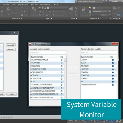 System Variable Monitor